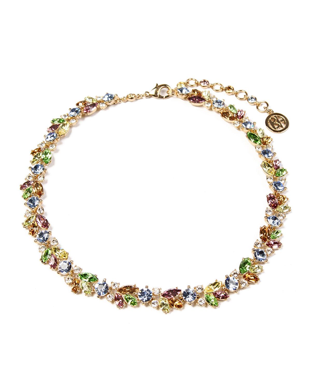 Ben-Amun Garden Crystal Cluster Necklace