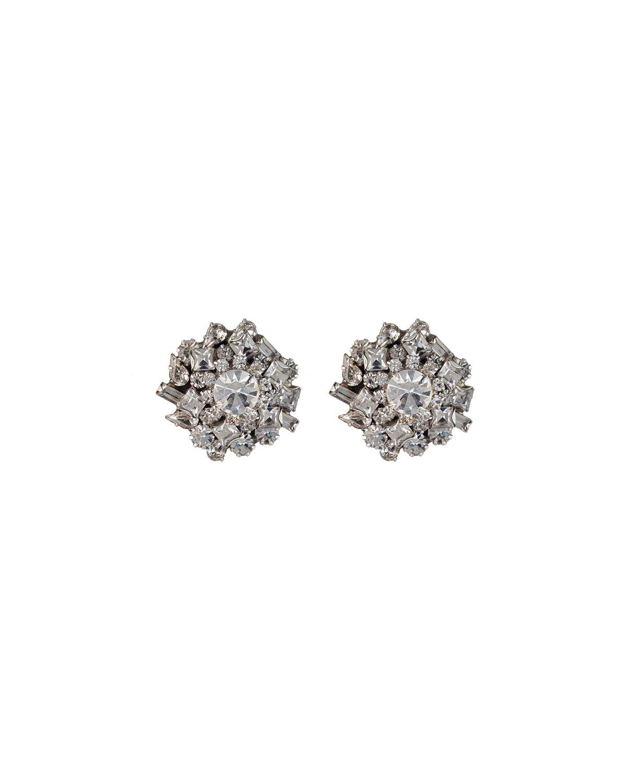 Dannijo Nessa Crystal Cluster Earrings
