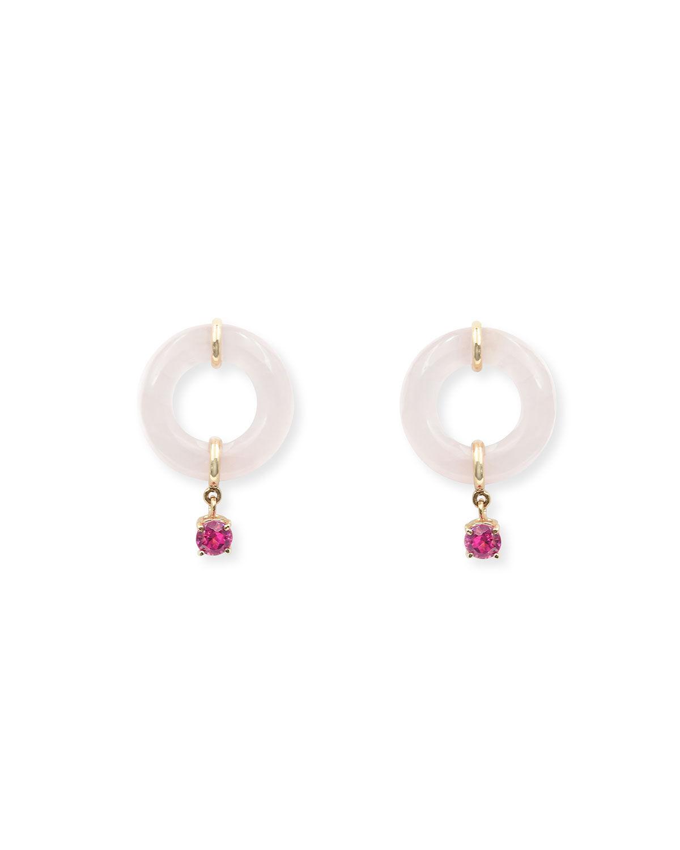 BONDEYE JEWELRY Glazed Munchkin Drop Earrings
