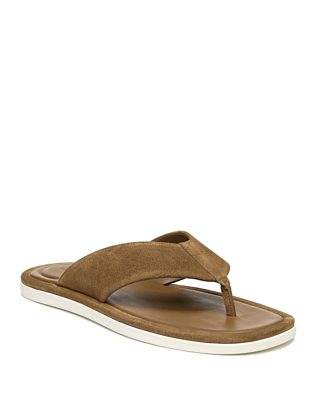 Vince Men's Dean 2 Sport Suede Flip Flops - Size: 9.5D