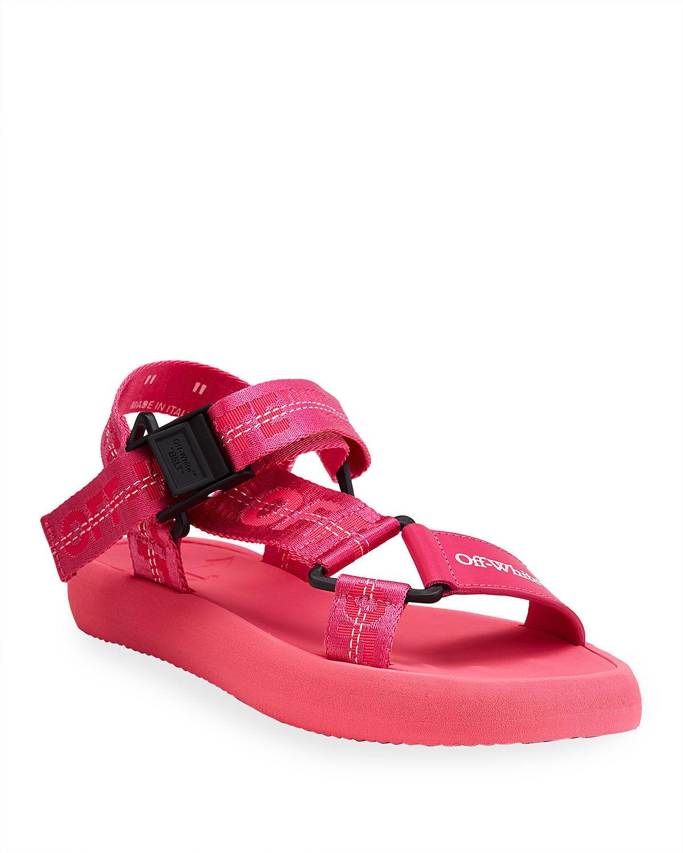 Off-White Trek Flat Sport Sandals - Size: 5B / 35EU