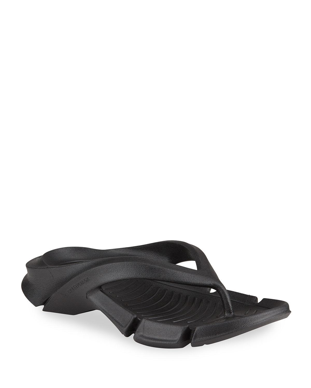 Balenciaga Molded Thong Sport Sandals - Size: 10B / 40EU