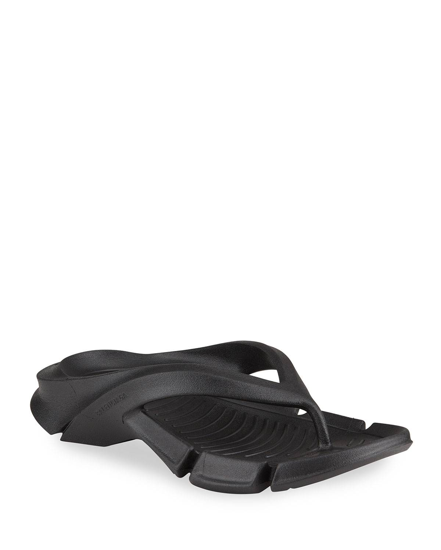 Balenciaga Molded Thong Sport Sandals - Size: 7B / 37EU