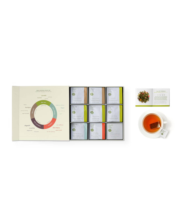 Palais des Thes Flavored Teas Assortment Box, 48 bags