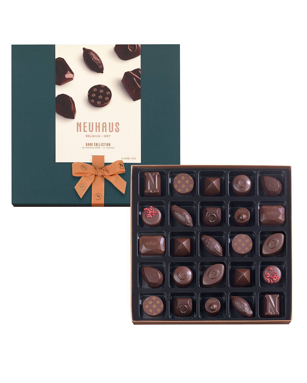 Neuhaus Chocolate 25-Piece Dark Chocolate Collection