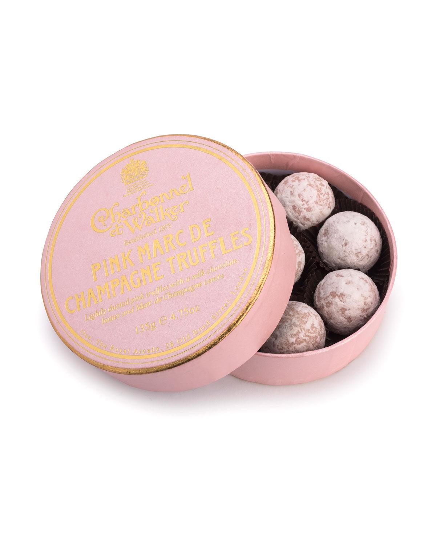 Charbonnel Et Walker Pink Marc de Champagne Truffles