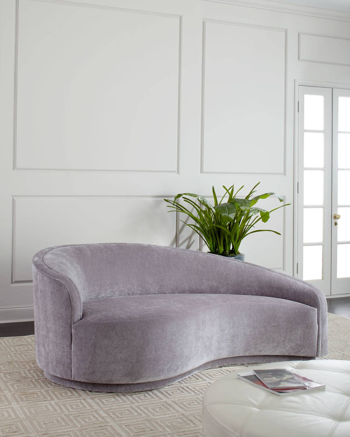 Interlude Home Dana Left Curved Chaise
