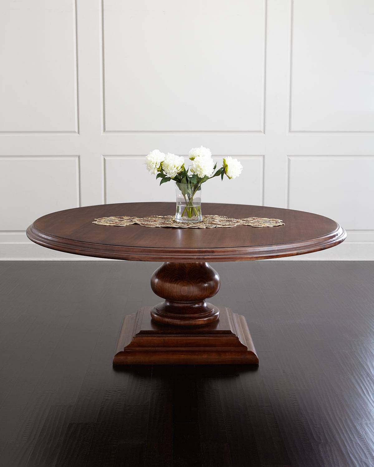 Arianna Dining Table - BROWN