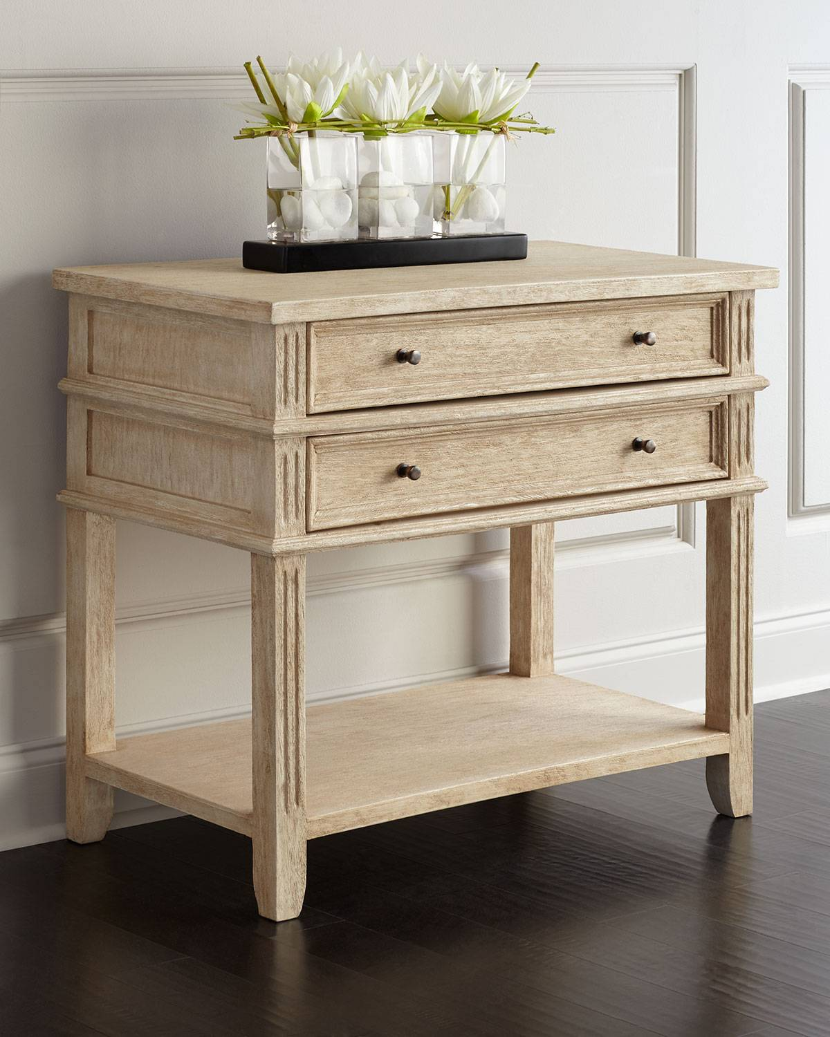 Peninsula Home Collection Hughes Nightstand - DRIFTWOOD