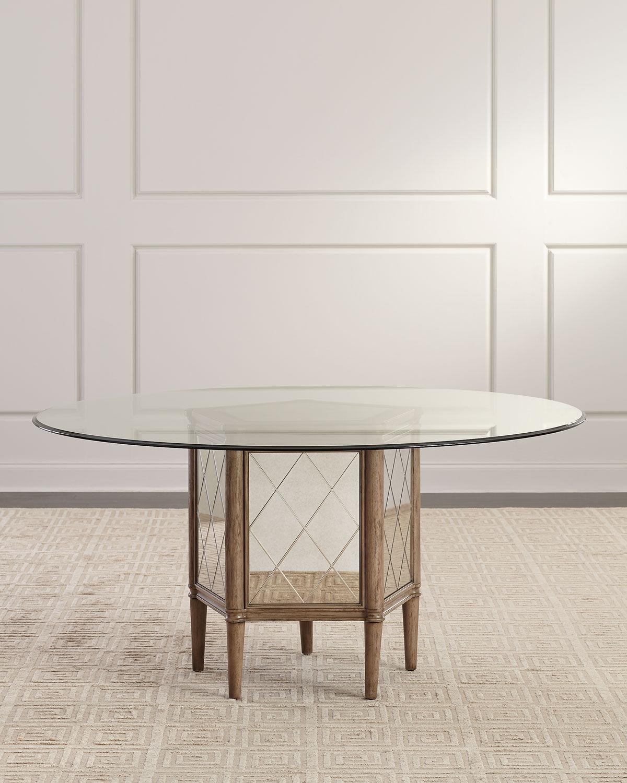 Alisa Round Pedestal Dining Table