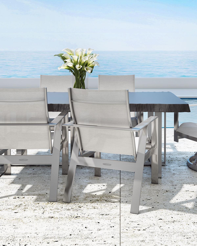 Castelle Moderna Live Edge Dining Table