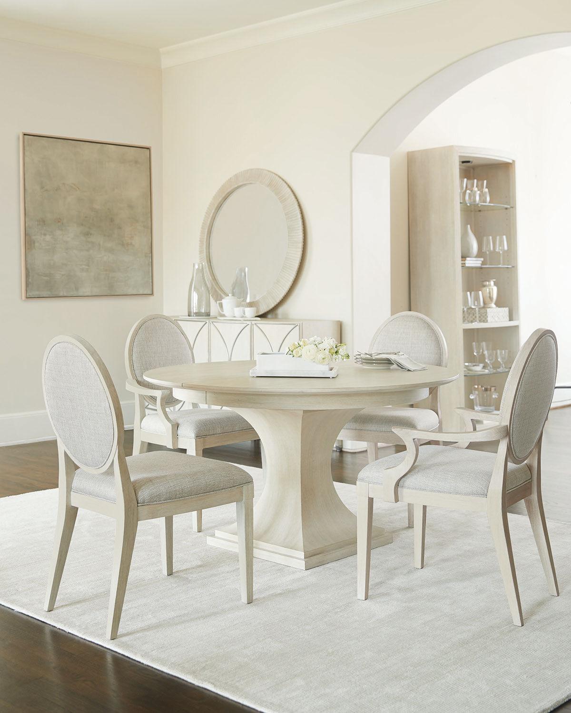 Bernhardt East Hampton Round Pedestal Dining Table