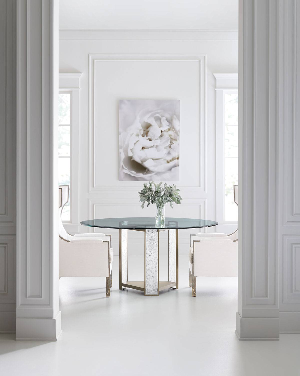 caracole Break The Ice Dining Table - SUNDANCE GOLD