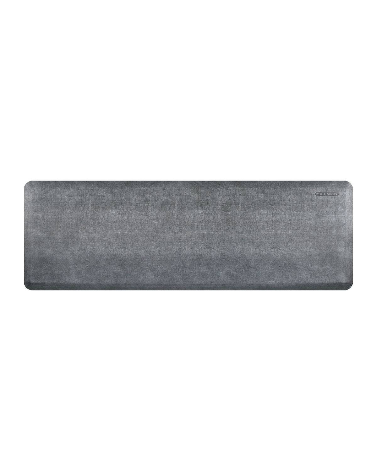 WellnessMats Linen Anti-Fatigue Kitchen Mat, 6' x 2'
