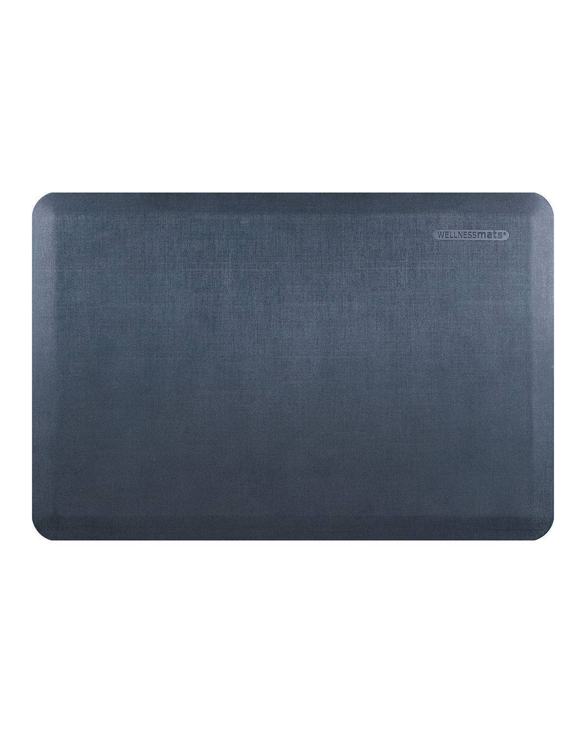 WellnessMats Linen Anti-Fatigue Kitchen Mat, 3' x 2'
