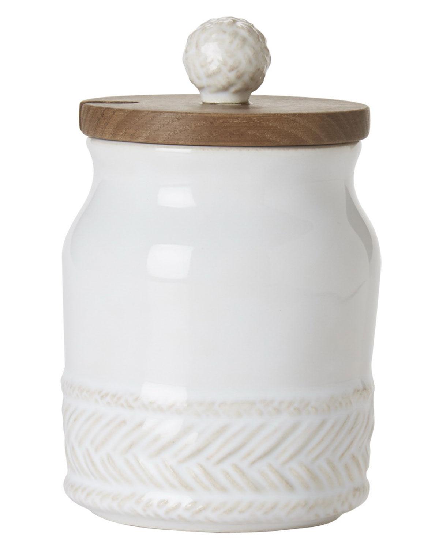 Juliska Le Panier Whitewash Sugar Pot