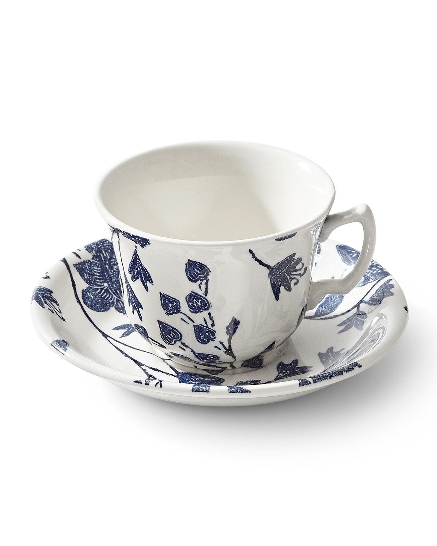 Ralph Lauren Garden Vine Tea Cup & Saucer