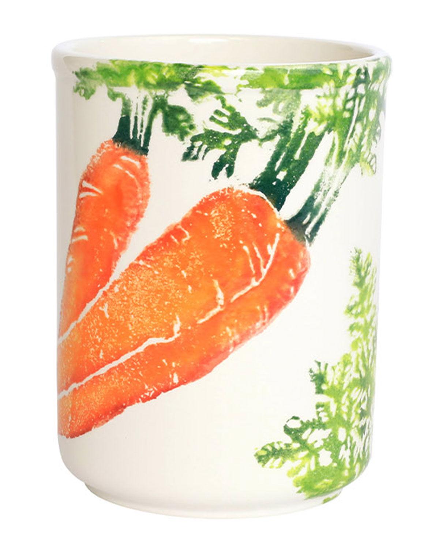Vietri Spring Vegetables Utensil Holder