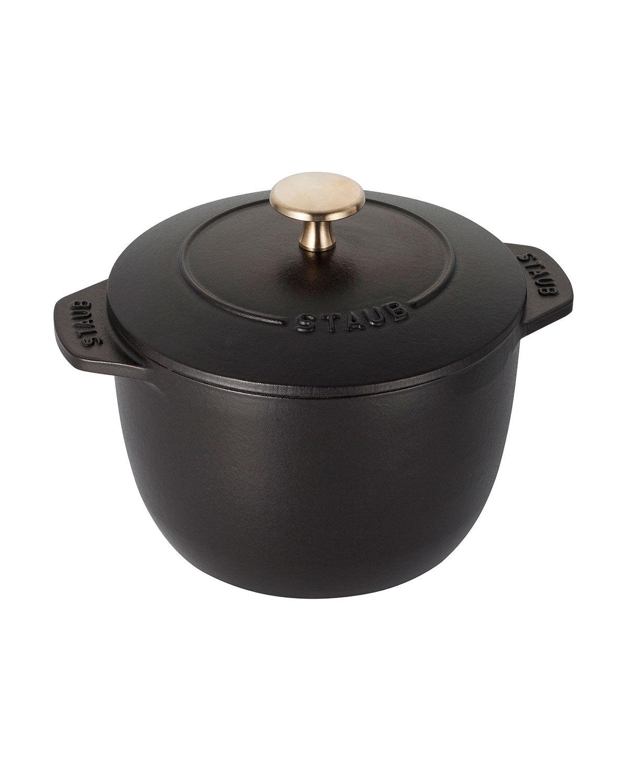 Staub 0.75-Qt. Petite French Oven, Matte Black