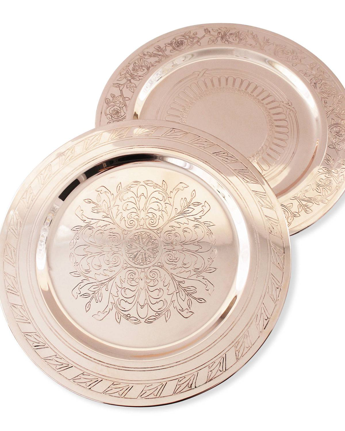 Coppermill Kitchen French Inspired Medallion Chargers