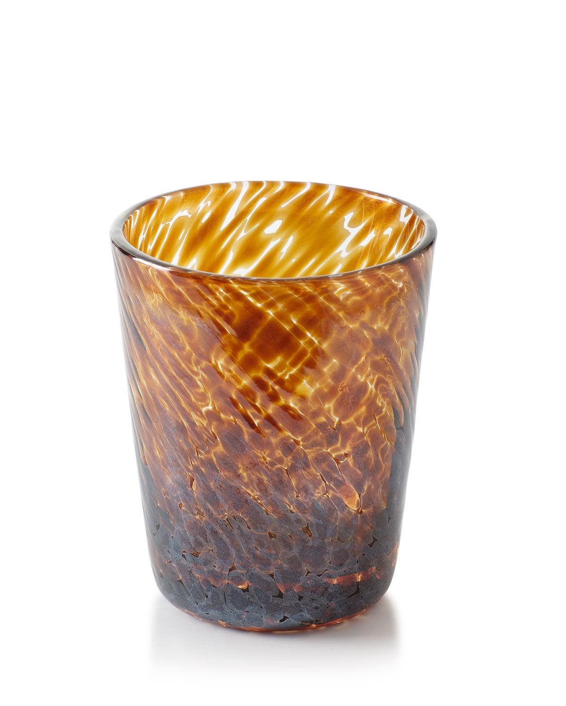 William Yeoward Vanessa Tortoise Double Old-Fashioned Glass