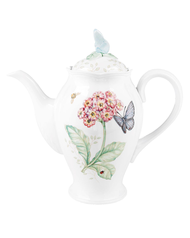 Lenox Butterfly Meadow Coffee Pot with Lid