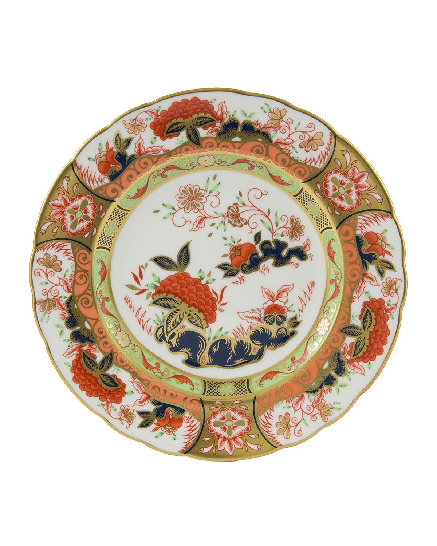Crown Imari Imperial Garden Accent Plate
