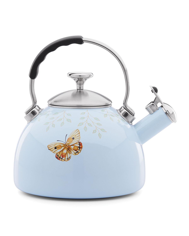 Lenox Butterfly Meadow Kitchen Tea Kettle