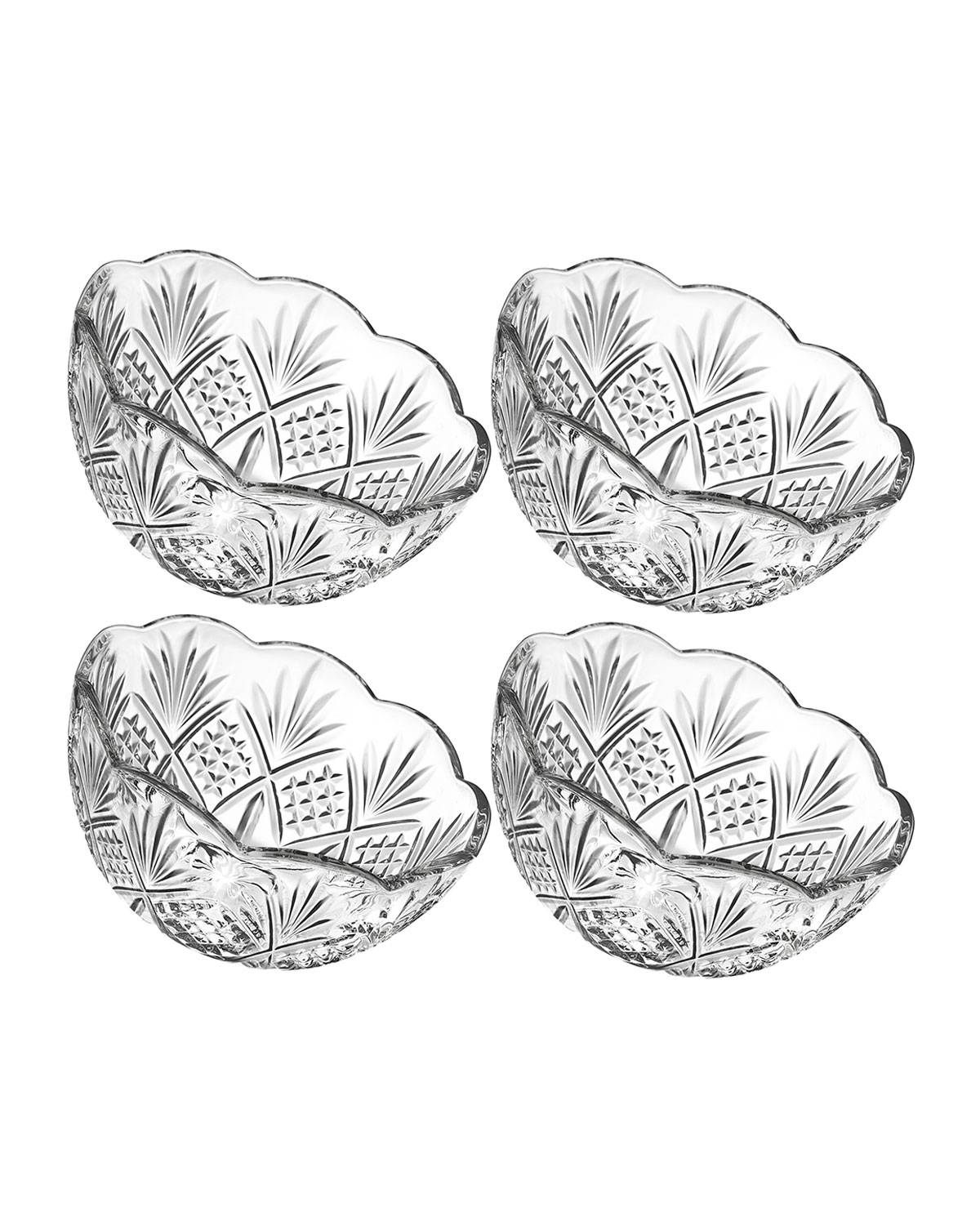 Godinger Dublin Small Candy Bowls, Set of 4