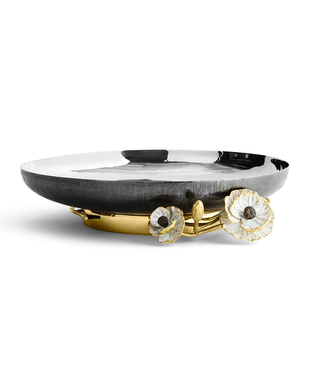 Michael Aram Anemone Medium Footed Platter