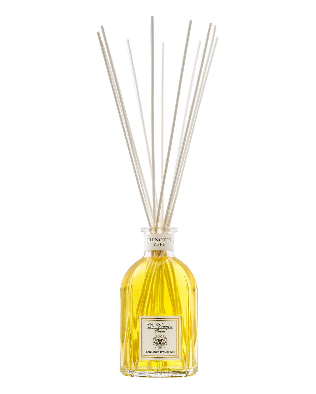 Dr. Vranjes Firenze 17 oz. Chinotto Pepe Glass Bottle Home Fragrance