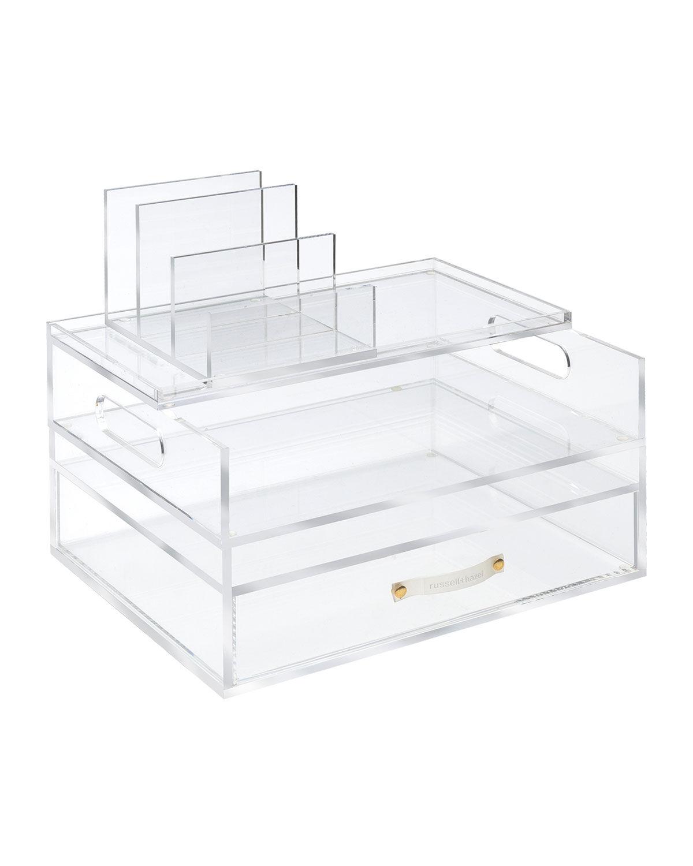 russell+hazel Acrylic Medium Solution Desk Organizer