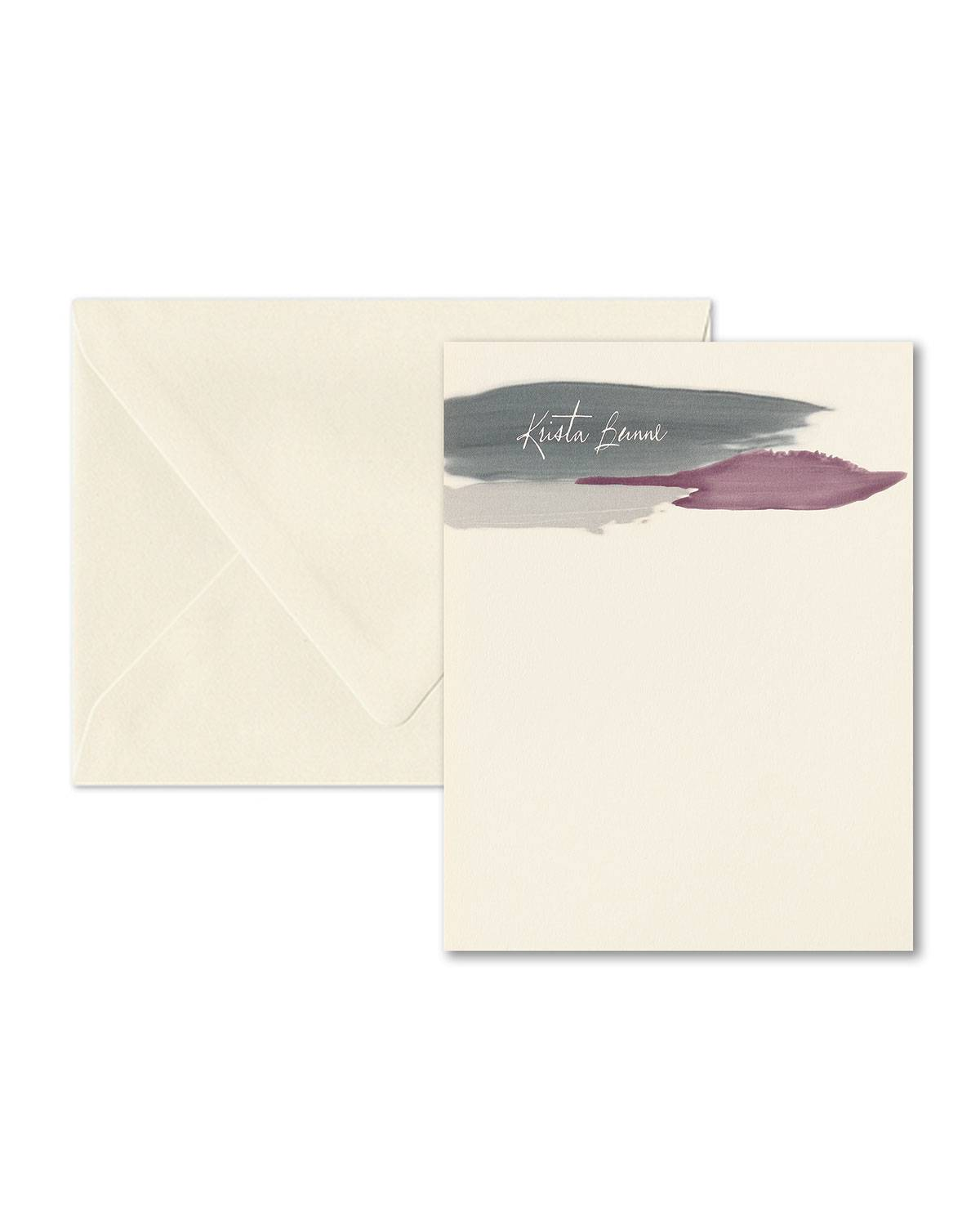 Carlson Craft A Splash of Color Note Card