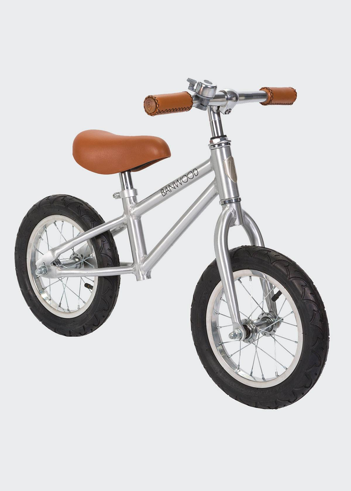 Banwood Kid's First Go Balance Bike - Special Edition Chrome  - Size: unisex