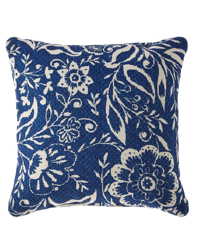 MacKenzie-Childs Villa Garden Outdoor Accent Pillow  - Size: unisex