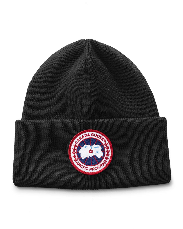 Canada Goose Arctic Disc Toque Beanie Hat  - female - NAVY HEATHER