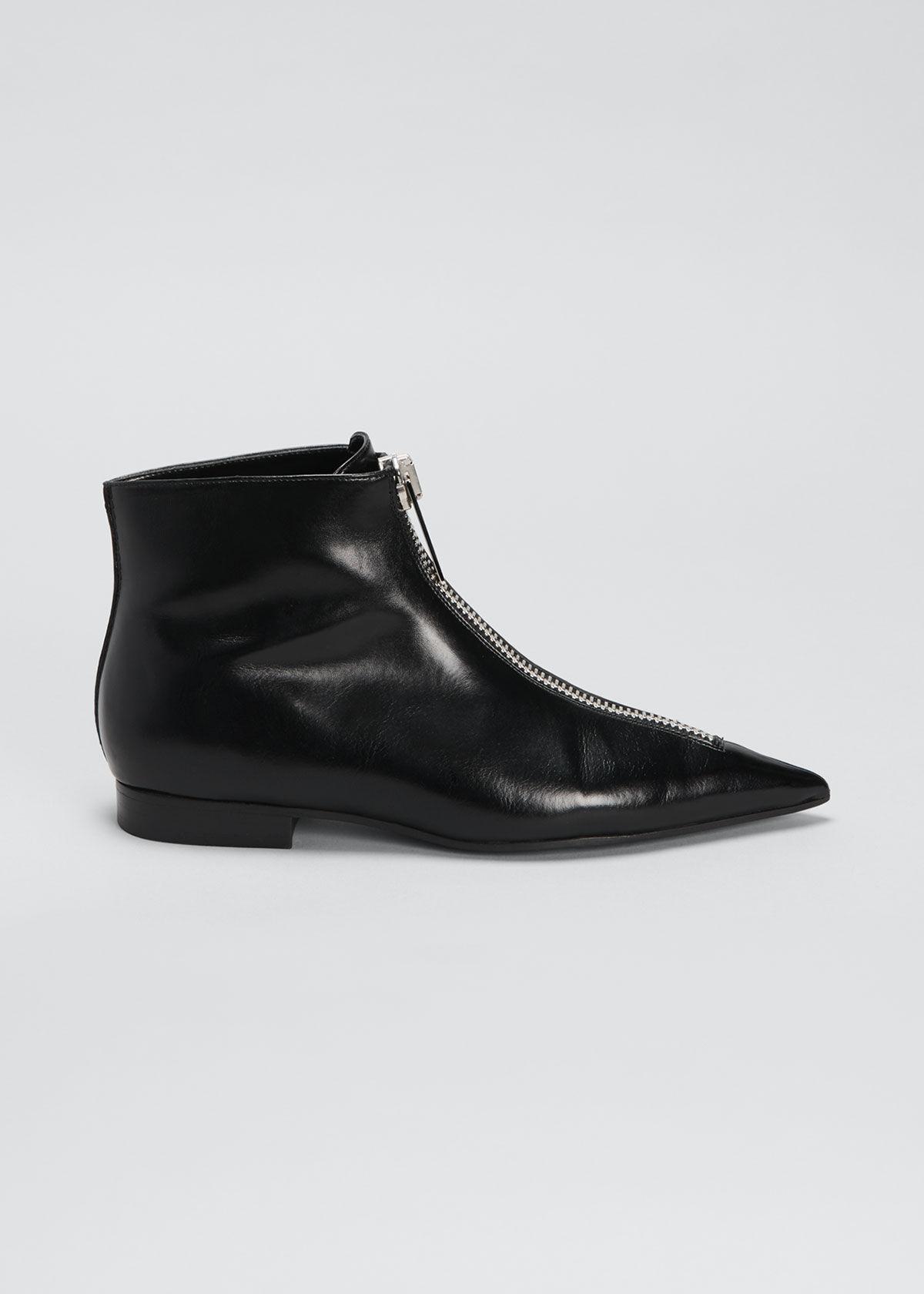 Stella McCartney Zipit Shoes  - female - BLACK - Size: 11B / 41EU