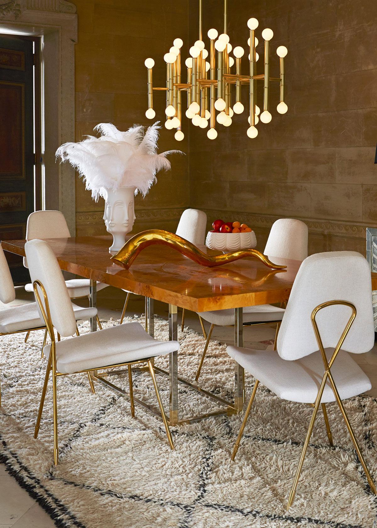 Jonathan Adler Bond Dining Table  - Size: unisex