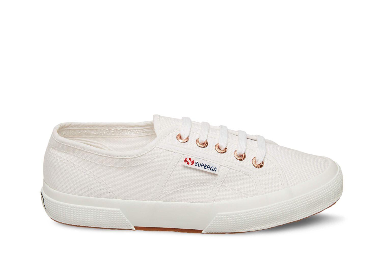 Superga 2750 COTU CLASSIC WHITE ROSE