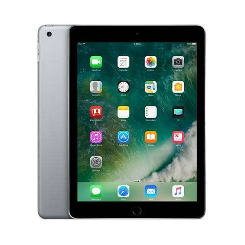 Apple iPad (6th generation) Wi-Fi 128GB - Space Gray MR7J2LL/A - Excellent Condition