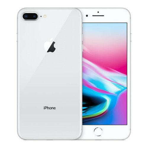 Apple iPhone 8 Plus (Unlocked) 64GB - Silver MQ972LL/A - Very Good Condition