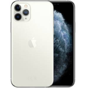 Apple iPhone 11 Pro (Unlocked) 256GB - Silver MWAU2LL/A - Very Good Condition