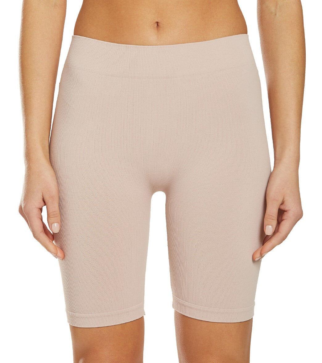 Free People Women's Seamless Bike Shorts - Pink - Medium/Large Spandex