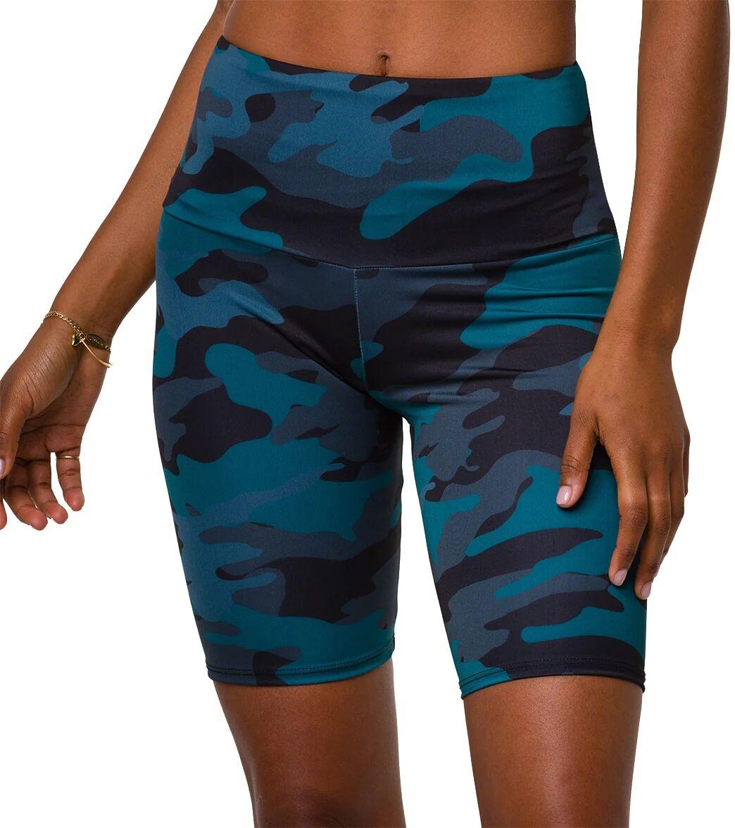 Onzie Women's High Rise Bike Shorts - Disguised - ML Spandex