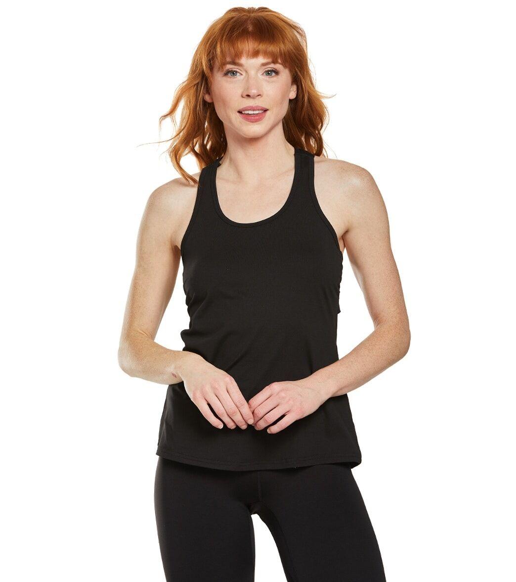 Soybu Women's Vitality Yoga Tank Top - Black X-Small Spandex