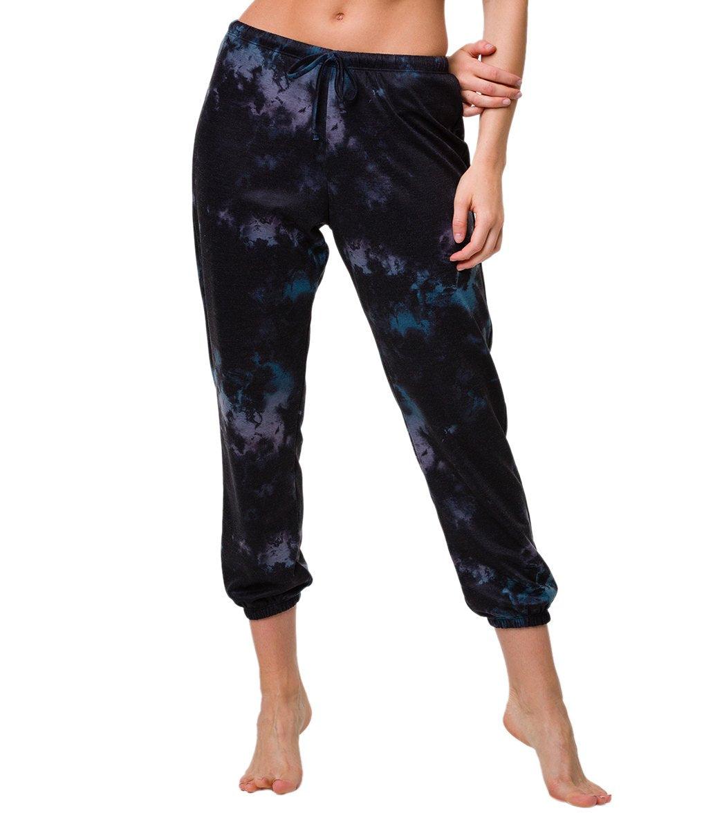 Onzie Women's Fleece Sweatpants - Night Swim ML Spandex