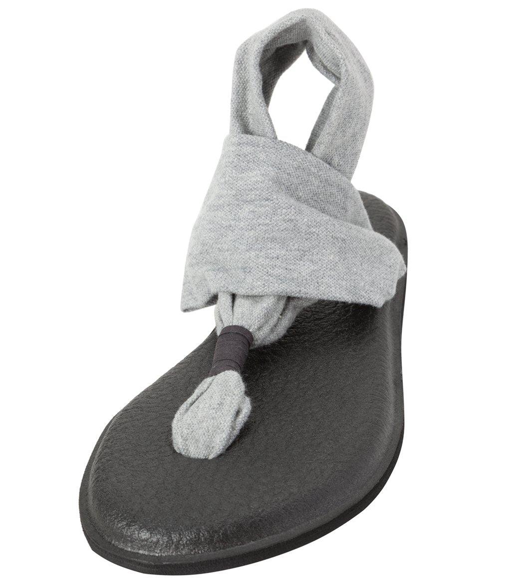 Sanuk Women's Yoga Sling 2 Sandals - Grey 5 Rubber