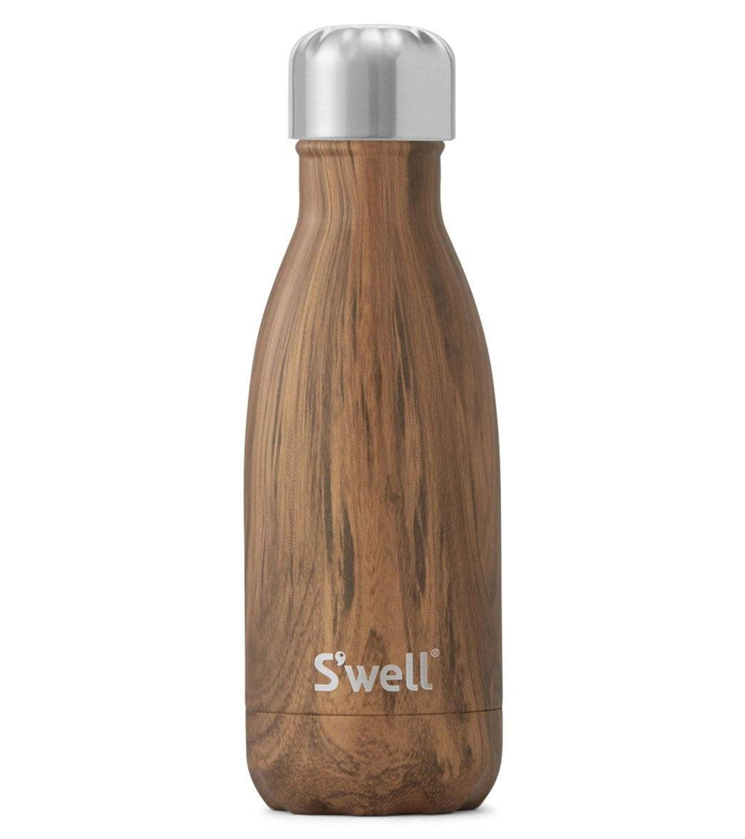 S'well 9oz Stainless Steel Water Bottle Teakwood