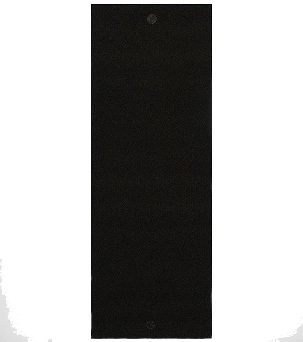 YogiToes Skidless Yoga Mat Towel Onyx Foam