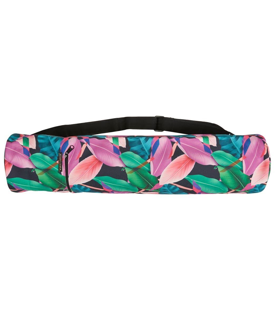 Vagabond Goods Fiji Garden Yoga Mat Bag 26x7 Cotton